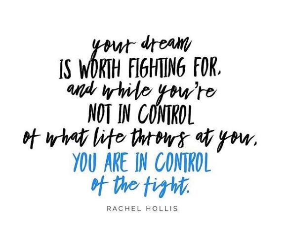 rachel hollis dream quote image