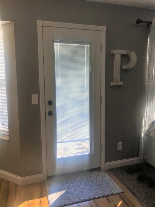 inside door - new