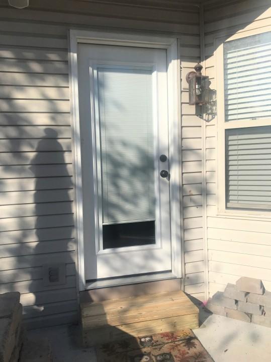outside door - new
